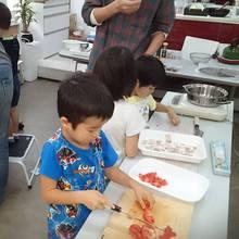 ピザ作りしたよ。石窯で焼いたよ!-農業体験教室