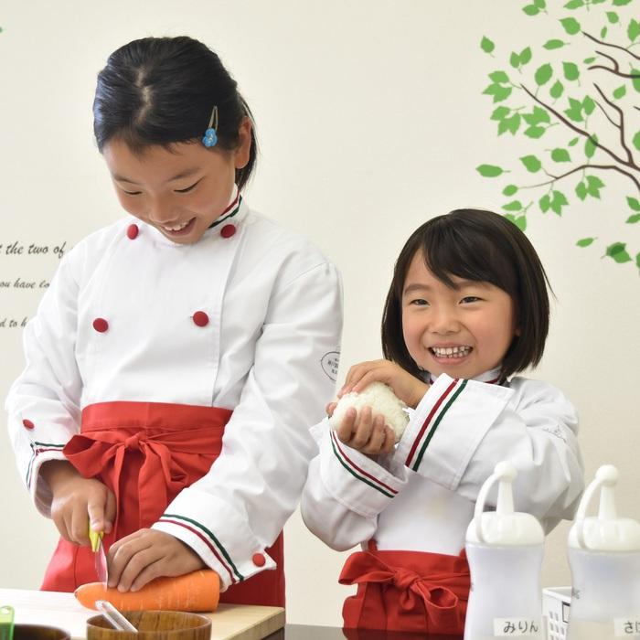 コックコート  子どもお料理教室